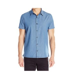 Theory Men's Custa Ashburton Woven Shirt